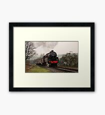 Steam Train on the East Lancs Railway Framed Print