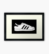 HIPSTER : SUPERSTAR Framed Print