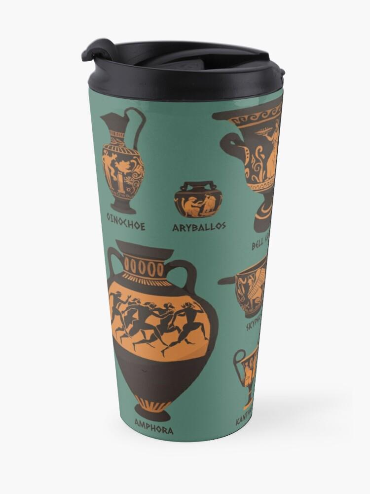 Alternate view of Ancient Greek Pottery Travel Mug