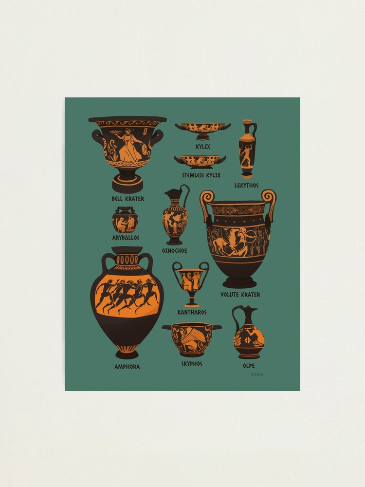 Alternate view of Ancient Greek Pottery Photographic Print