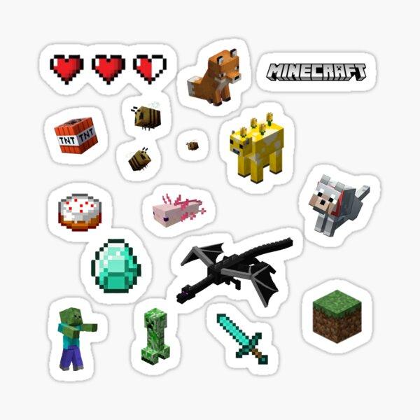 Minecraft Sticker Pack Sticker