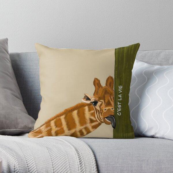 C'est la vie Throw Pillow