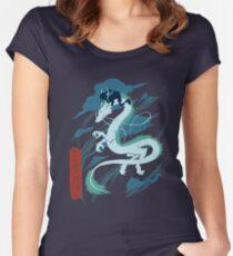 chihiro and kohaku Women's Fitted Scoop T-Shirt
