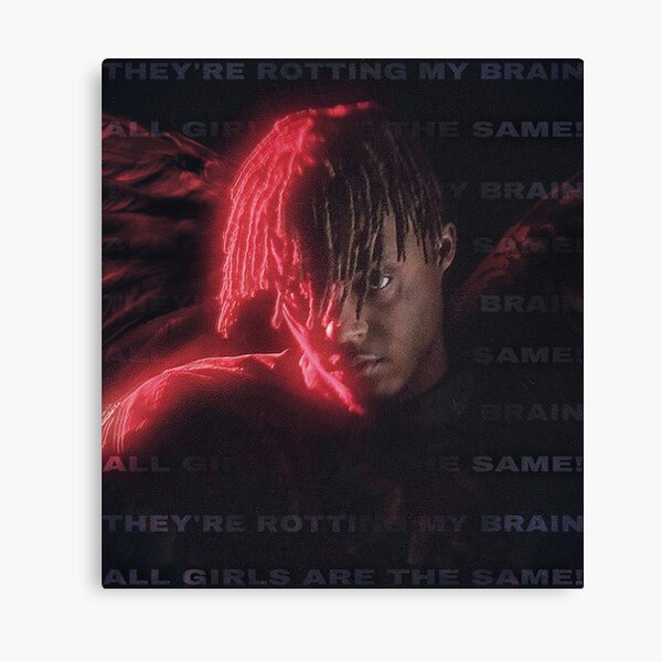 JUICE WRLD - ALL GIRLS ARE THE SAME  Canvas Print