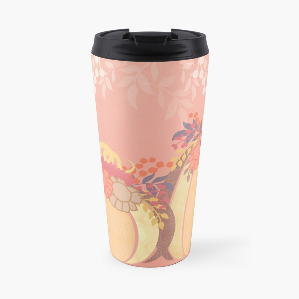 Harvest Blossom Travel Mug