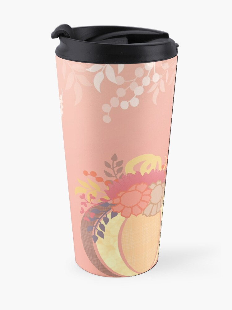Alternate view of Harvest Blossom Travel Mug