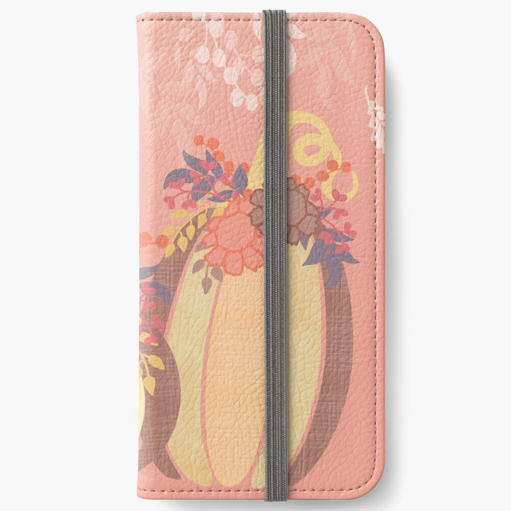 Harvest Blossom iPhone Wallet