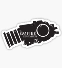 The Empire remembers Sticker