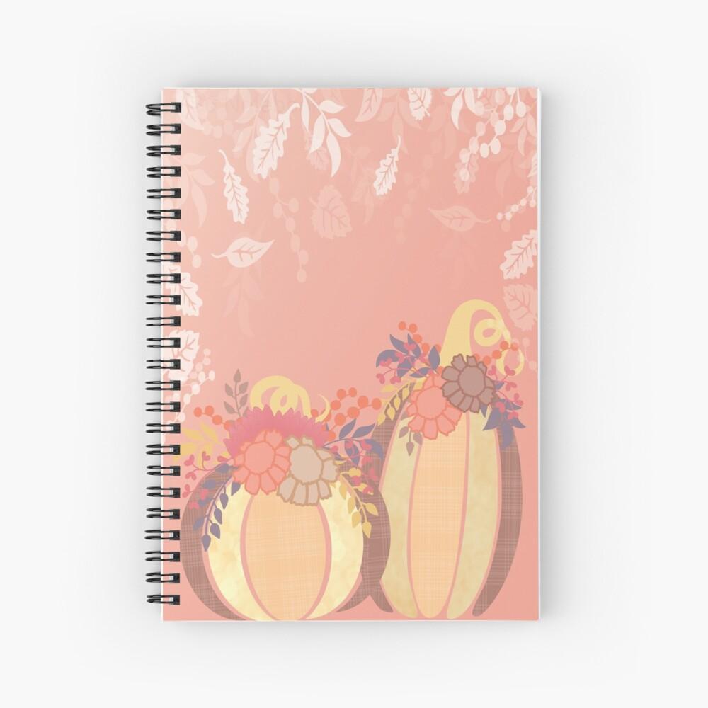Harvest Blossom Spiral Notebook