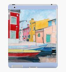 Burano Italy iPad Case/Skin