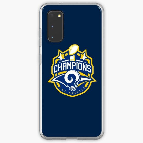 champions 2018 rams Samsung Galaxy Soft Case