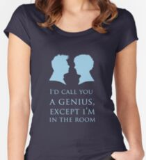 I'd Call You A Genius II Women's Fitted Scoop T-Shirt