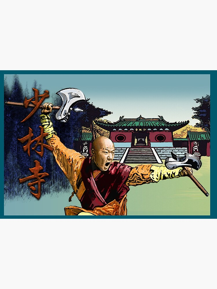 Shaolin Temple Monk by PLUGOarts