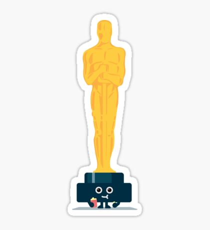 Character Building - Oscar Noms Sticker