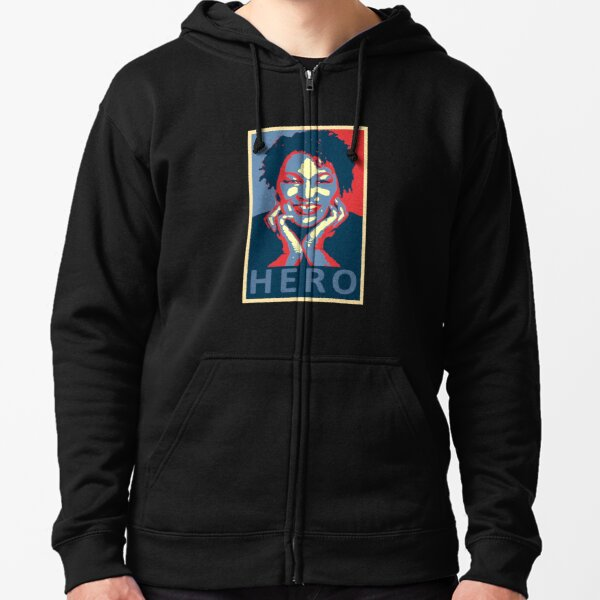 stacey abrams Essential Zipped Hoodie