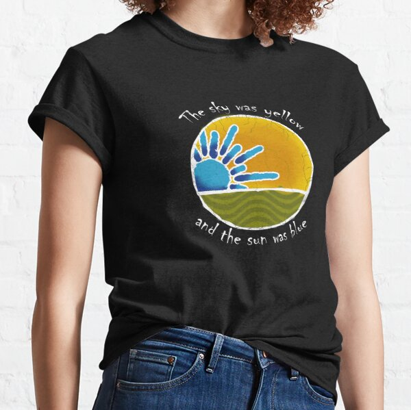 Sky Yellow Sun Blue Classic T-Shirt