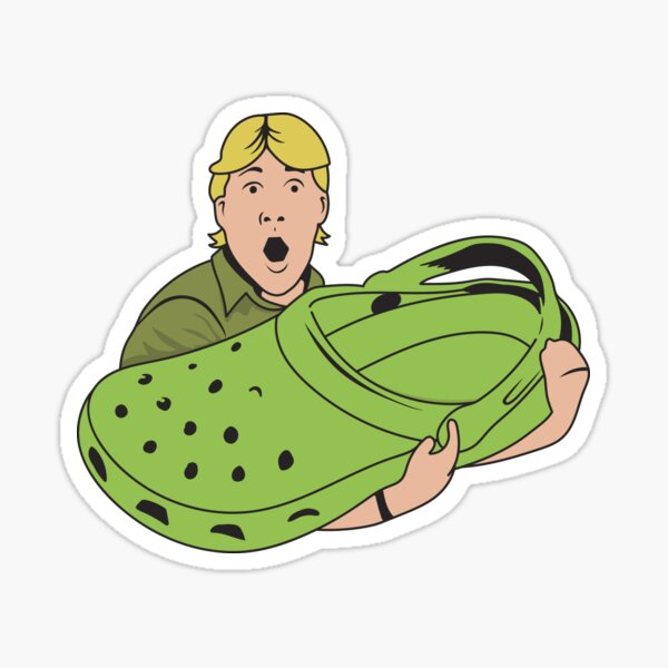 Croccy! Sticker