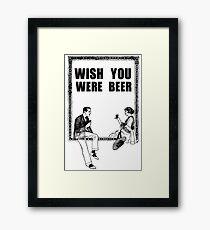 Awesome Drunk Party Time Beer Vintage Framed Print