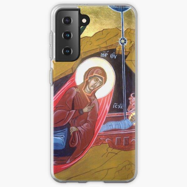Byzantine Icon of the Nativity Samsung Galaxy Soft Case
