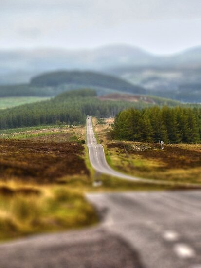 Hilly Road by Vicki Spindler (VHS Photography)