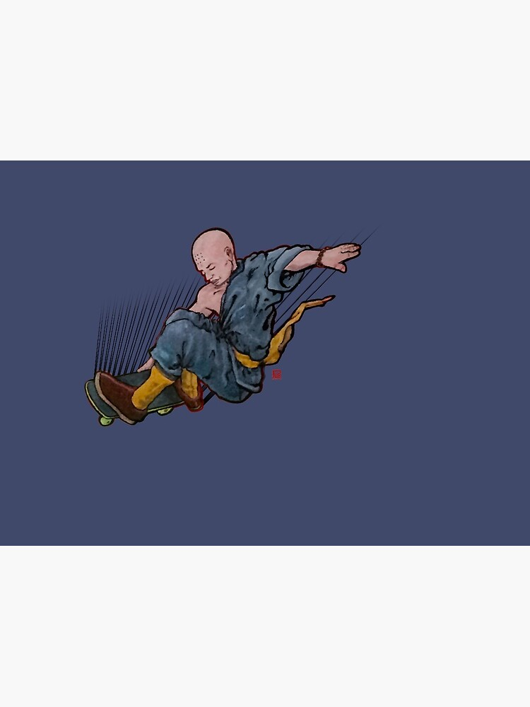 Shaolin Skater by PLUGOarts