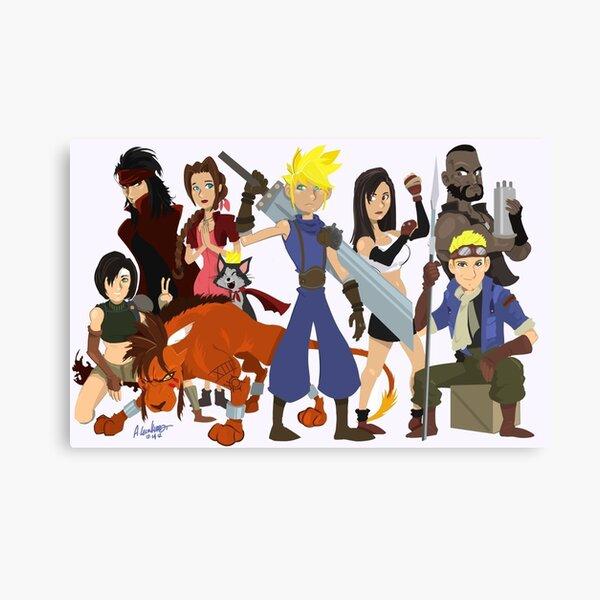 Final Fantasy 7: Complete Canvas Print