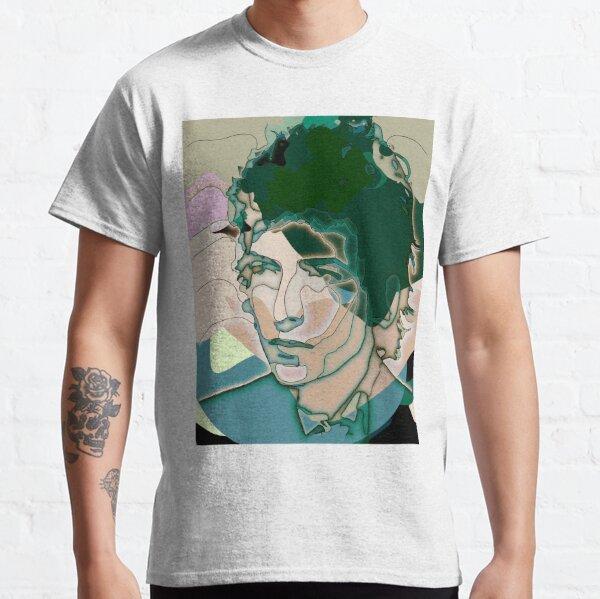 Dylan retrato cubista Camiseta clásica
