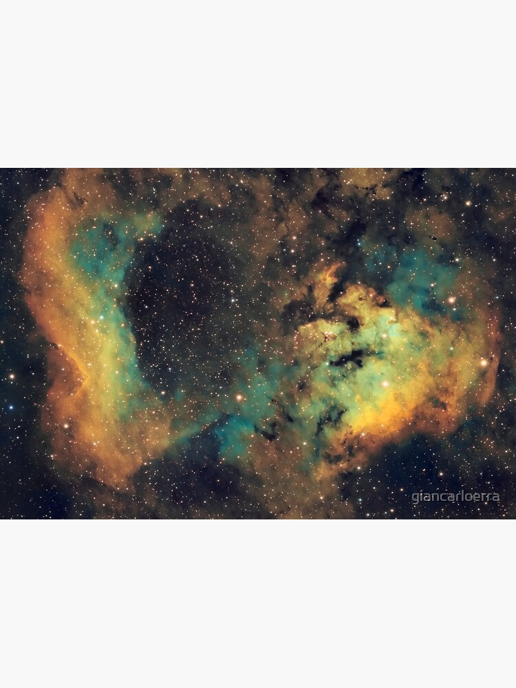 NGC 7822 - Hubble Palette Narrowband by giancarloerra