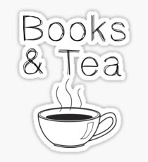 Books & Tea Sticker