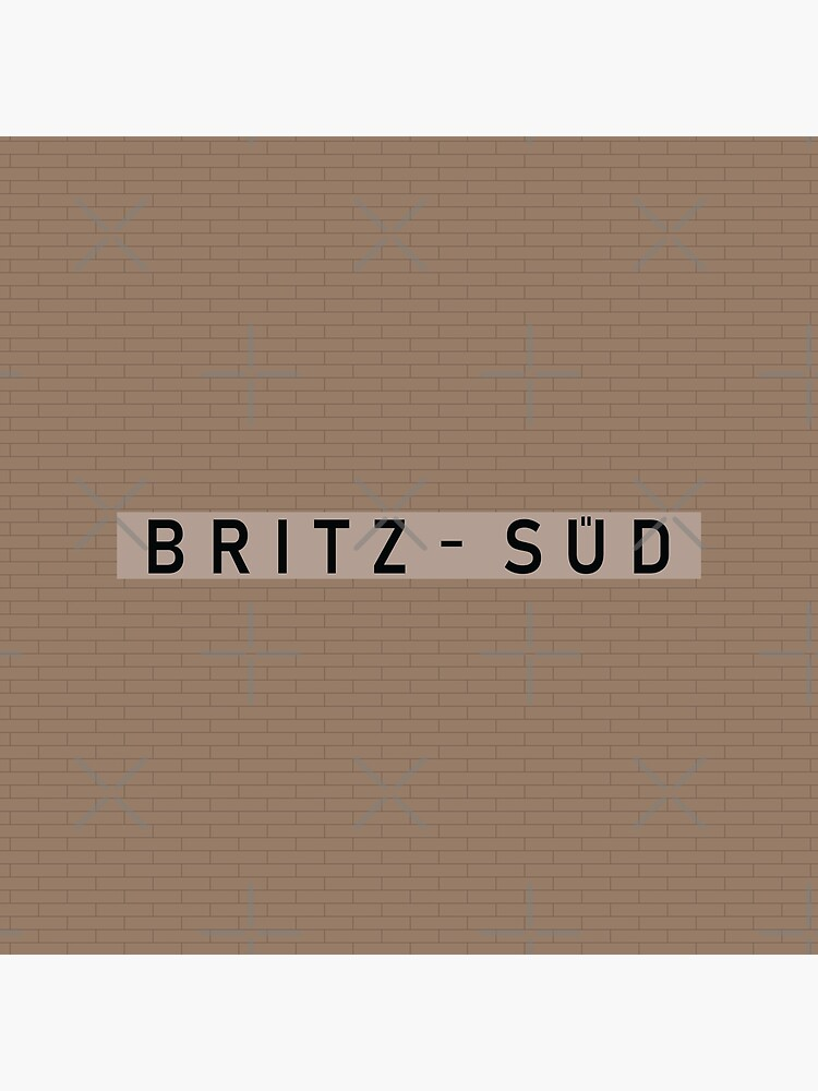 Britz-Süd Station Tiles (Berlin) by in-transit