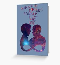 Infinite [Johnlock] Greeting Card