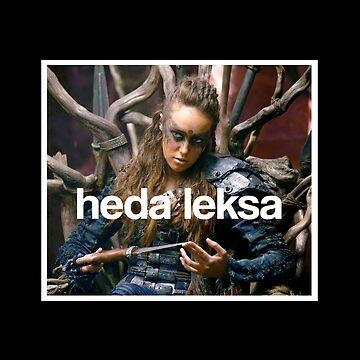 The 100 - Heda Leksa by alyciadebnam