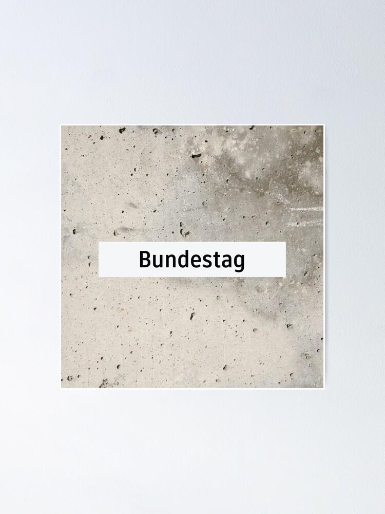 Alternate view of Bundestag Station Tiles (Berlin) Poster