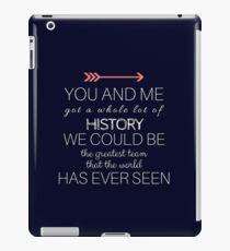 1D - HISTORY - MIDNIGHT BLUE iPad Case/Skin