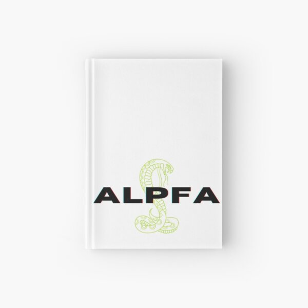 The Ana (Lime Snake) Hardcover Journal