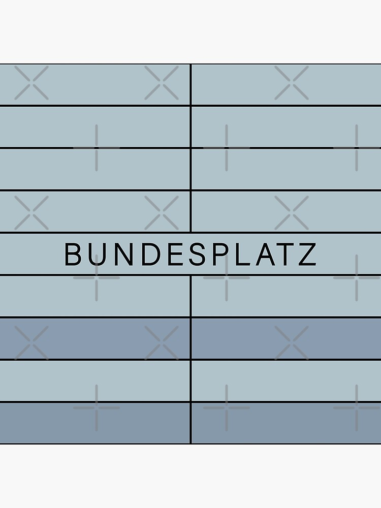 Bundesplatz Station Tiles (Berlin) by in-transit