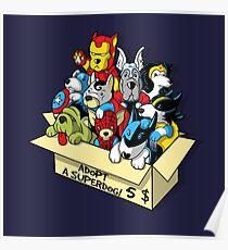 Adopt a Superdog Poster