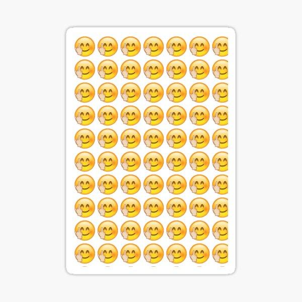 Emoji del dedo medio Pegatina