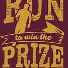 Christian T-Shirt: Run to Win the Prize 2 by Eli Avellanoza