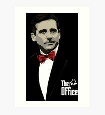 The Office: Godfather Michael Scott Art Print