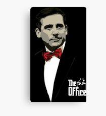 Das Büro: Pate Michael Scott Leinwanddruck