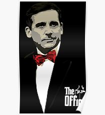 The Office: Godfather Michael Scott Poster