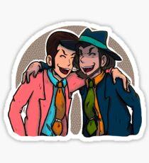 lupin & jigen Sticker