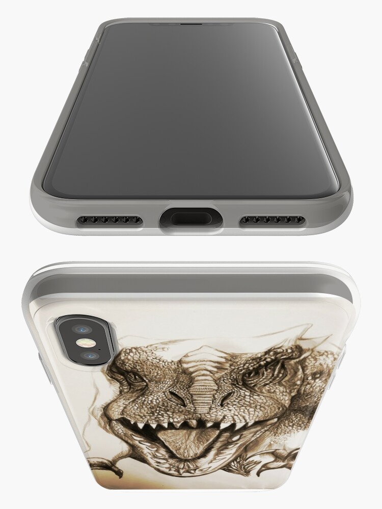 Vista alternativa de Funda y vinilo para iPhone HYBRID DINOSAUR