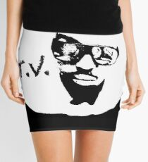 'T. V.' THE OFFICIAL T.V.-LOGO Mini Skirt