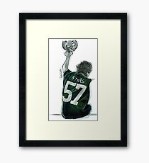 packers dork Framed Print