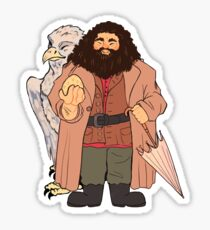 Hagrid and Buckbeak Sticker