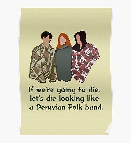 Peruvian Folk Band Poster