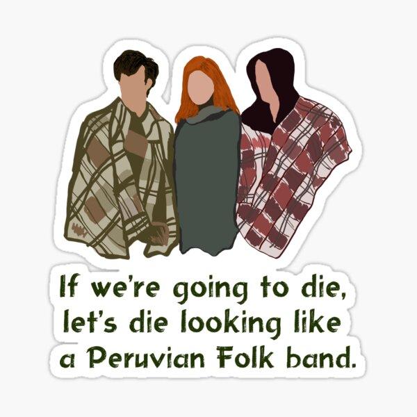 Peruvian Folk Band Sticker