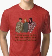 Peruvian Folk Band Tri-blend T-Shirt